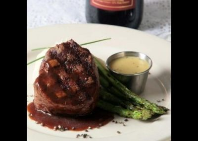 Storrowtown Tavern - Meat with Asparagus