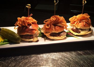 Abigail's Grille & Wine Bar - Apple Bison Sliders