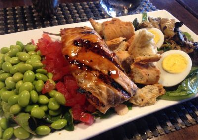 Lattitude - Salmon Cobb Salad