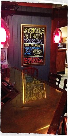 Cal's Wood-Fired Grill & Bar - Specials Board