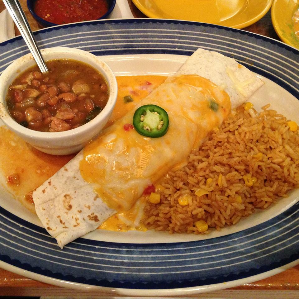 On The Border - Burritos