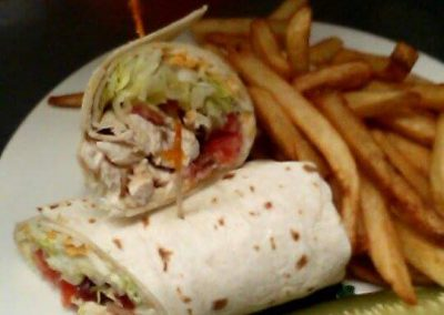 Donovan's Pub - Chicken, Bacon & Ranch Wrap