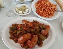 Ficara's Restaurant - Sausage and Peppers
